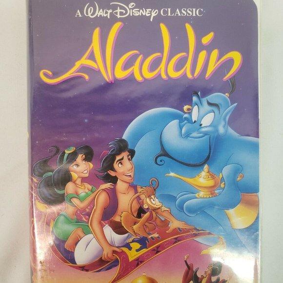 ALADDIN (VHS, 1992) CLASSIC BLACK DIAMOND